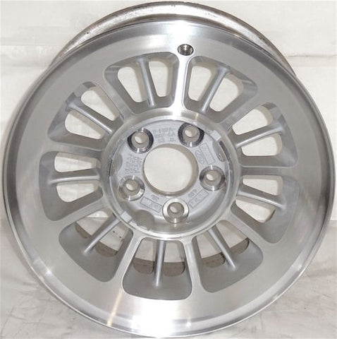 "1996-1998 Ford Explorer 15"" Wheel Factory OEM Aluminum Alloy Silver Rim 3189"