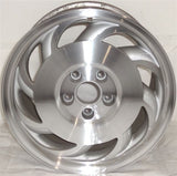 "1991-1996 Chevrolet Corvette 17"" Wheel Factory OEM Aluminum Alloy Rim 5387 5387B"