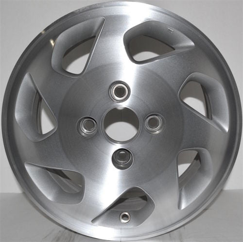 "1998-2000 Honda Accord 15"" Wheel Factory OEM  Machined Aluminum Alloy RIM 63776"