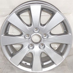 "2007-2011 Toyota Camry 16"" Wheel Aluminum Alloy Factory OEM Silver Rim 69496"