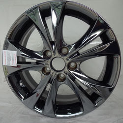 "2011 - 2013 Hyundai Sonata 17"" Wheel Black Chrome Factory OEM Aluminum Rim 70803"