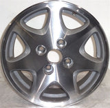 "1999-2001 Hyundai Sonata 15"" Wheel OEM Factory Machined Aluminum Alloy Rim 70687"