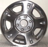 "2001-2006 Chevrolet Avalanche 17"" Wheel Factory OEM Machined Aluminum Rim 5130"