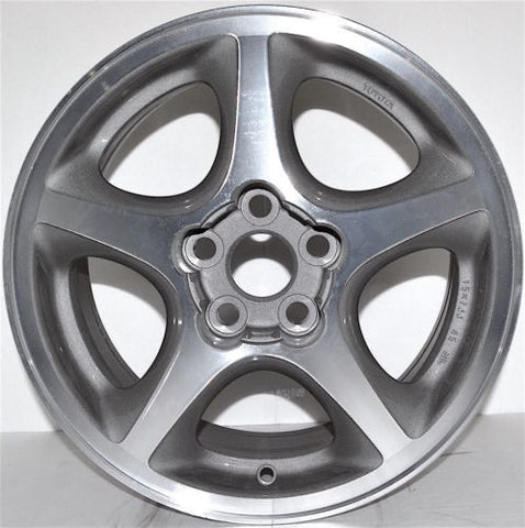 "1994-1999 Toyota Celica 15"" Wheel Factory OEM Machined Aluminum Alloy Rim 69327B"