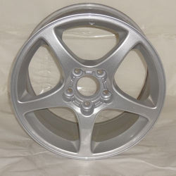 "2000-2004 Front Chevrolet Corvette 17"" Wheel Factory OEM Silver Rim 5121/ 5160"