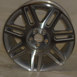 "2003-2005 Lincoln LS OEM Factory 17"" Wheel Aluminum Alloy Silver Rim 3514"