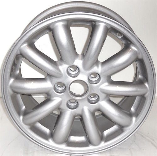 "2000-2003 Jaguar S Type 16"" Wheel Factory OEM Aluminum Alloy Silver Rim 59702"