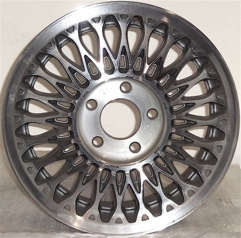 "1994-1995 Cadillac DeVille 15"" Wheel OEM Factory Machine Aluminum Alloy Rim 4518"