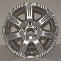"2003-2006 Jaguar S-Type 16"" Wheel Factory OEM Aluminum Alloy Silver Rim 59776"