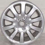 "2002-2004 Jaguar X-Type 16"" Wheel Aluminum Alloy Factory OEM Silver Rim 59712"