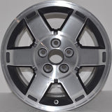 "2008-2012 Honda Pilot 17"" Wheel Factory OEM Aluminum Alloy Machined Rim  63993"