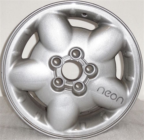 "1997-1999 Dodge Neon 14"" Wheel Factory OEM Aluminum Alloy Silver RIM 2083"