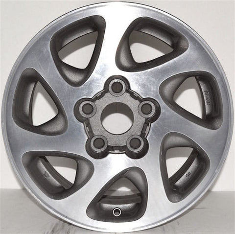 "1997-2001 Toyota Camry 15"" Wheel Factory OEM Machined Aluminum Alloy Rim 69348"