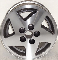 "1993-1995 Jeep Grand Cherokee 15"" Wheel Factory OEM Machined Aluminum Rim 9010"
