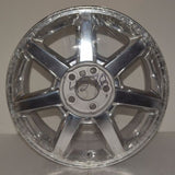 "2004-2012 Cadillac CTS STS 17"" Factory OEM Polished Wheel  Rim Silver 4578 4610"