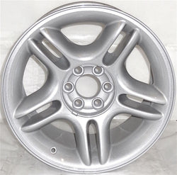 "1998-2004 Dodge Dakota Durango 17"" Wheel OEM Alluminum Alloy Silver Rim 2105A"