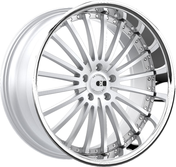 "XO Luxury X130 New York 22"" Wheels - Brushed Silver or Black"