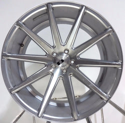 "XO Luxury Sydney 22"" x 10"" Custom Aluminum Machined Wheel Rim 5x4.5 Bolt Pattern"