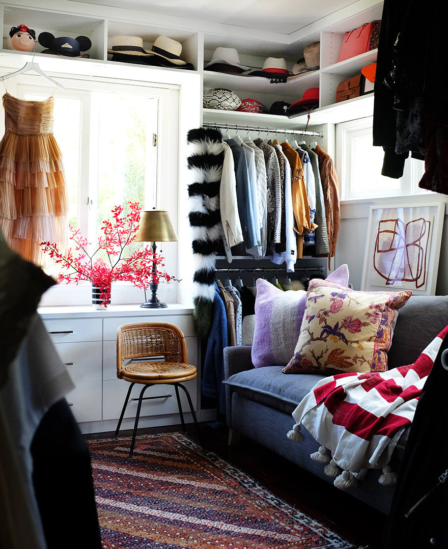 A closet wonderland.Interior Design by Consort. Photo: Mat Sanders