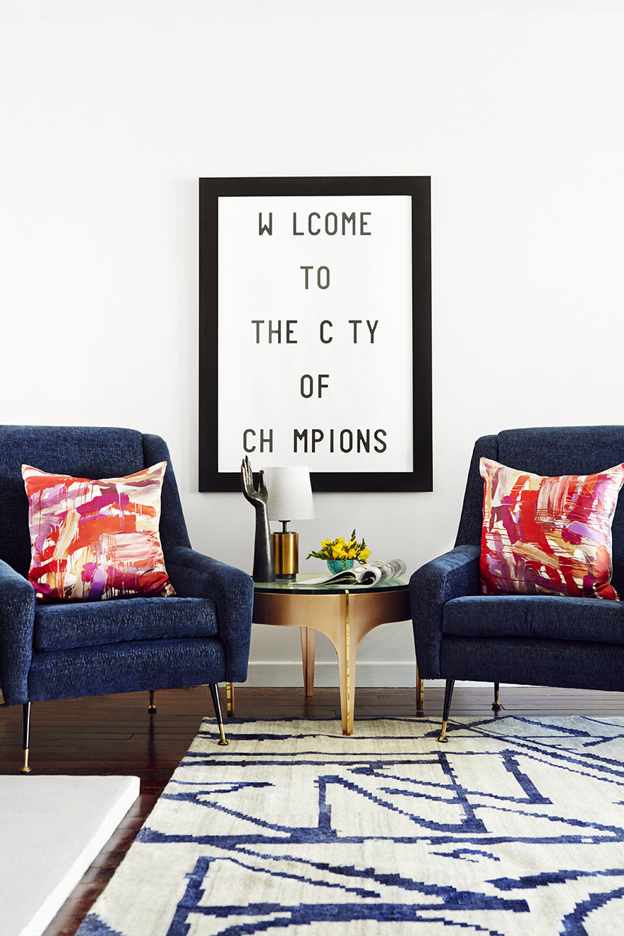 Welcome to the city of champions.Interior Design by Consort. Photo: Christopher Patey