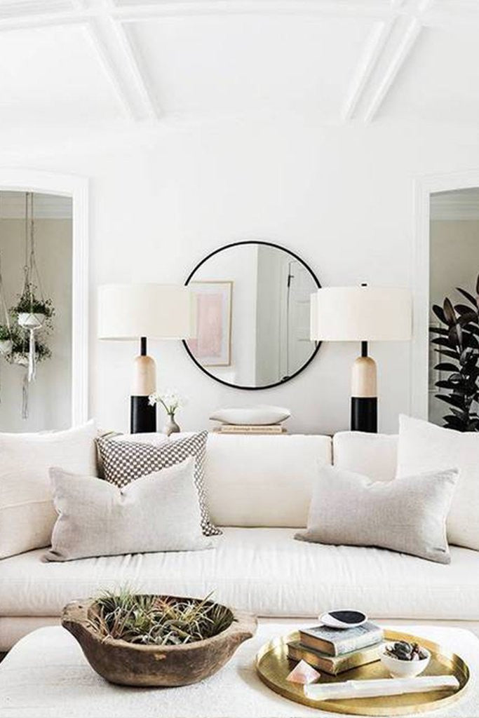 Mirror, mirror on the wall...Interior Design by Consort. Photo: Laure Joliet for Domino Magazine.
