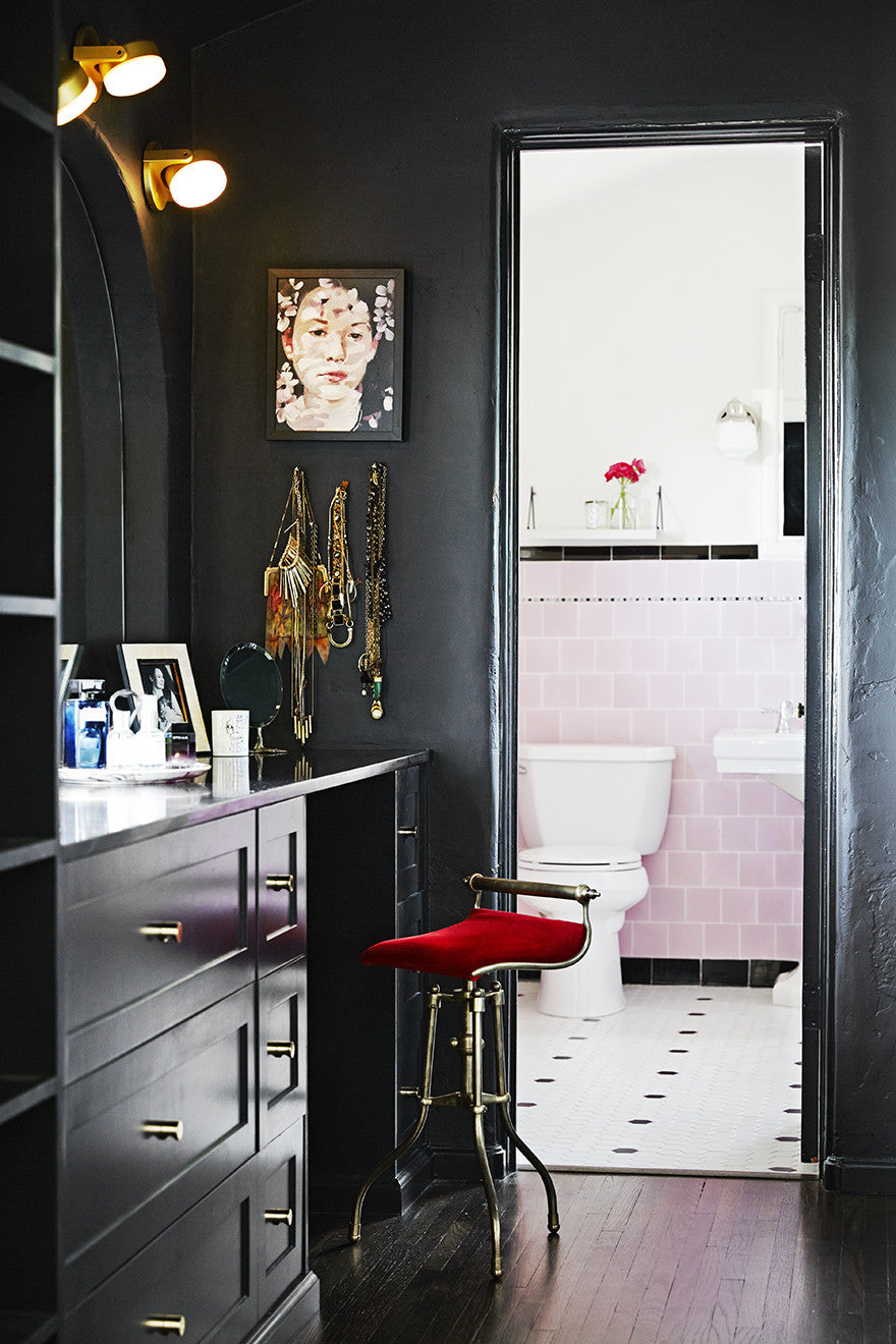 The vanity project. Interior Design by Consort. Photo: Daniel Collopy
