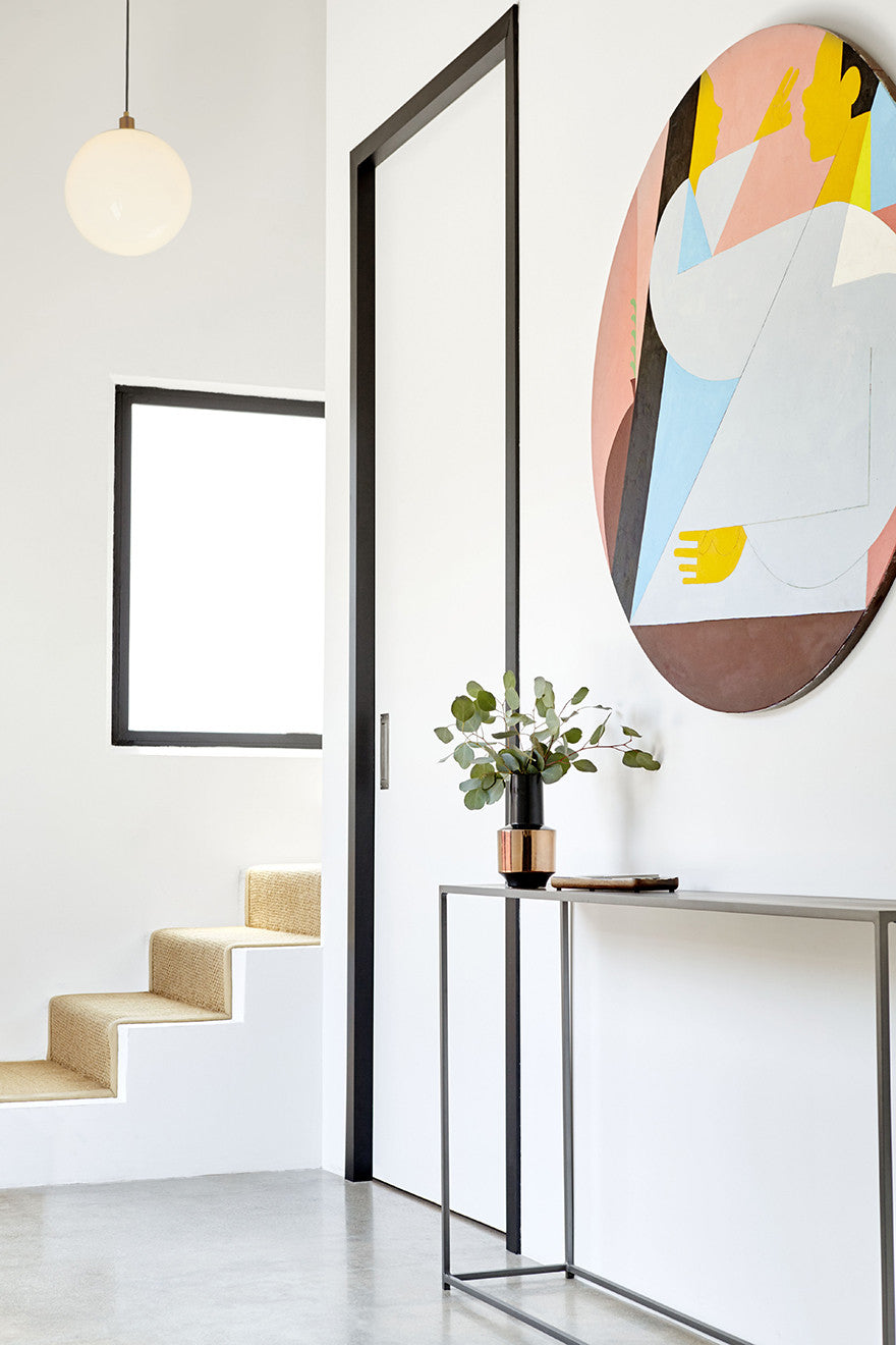 Streamlined geometry.Interior Design by Consort. Photo: Christopher Patey