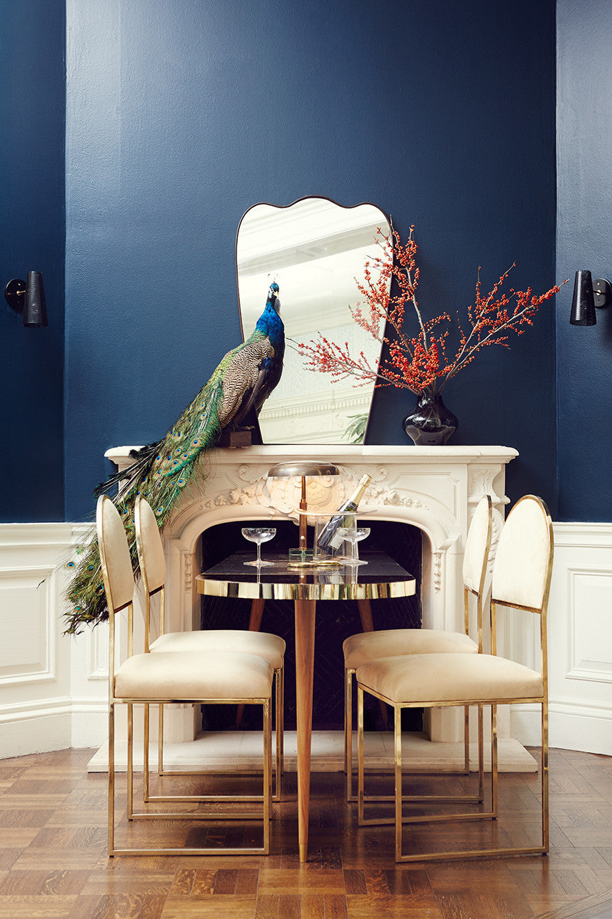 Birds of a feather flock together. Interior Design by Consort. Photo: Christopher Patey