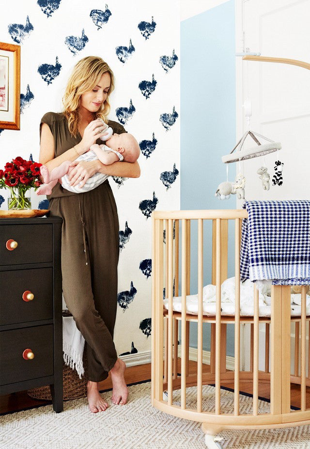 A lullaby ready room.Interior Design by Consort. Photo: Christopher Patey