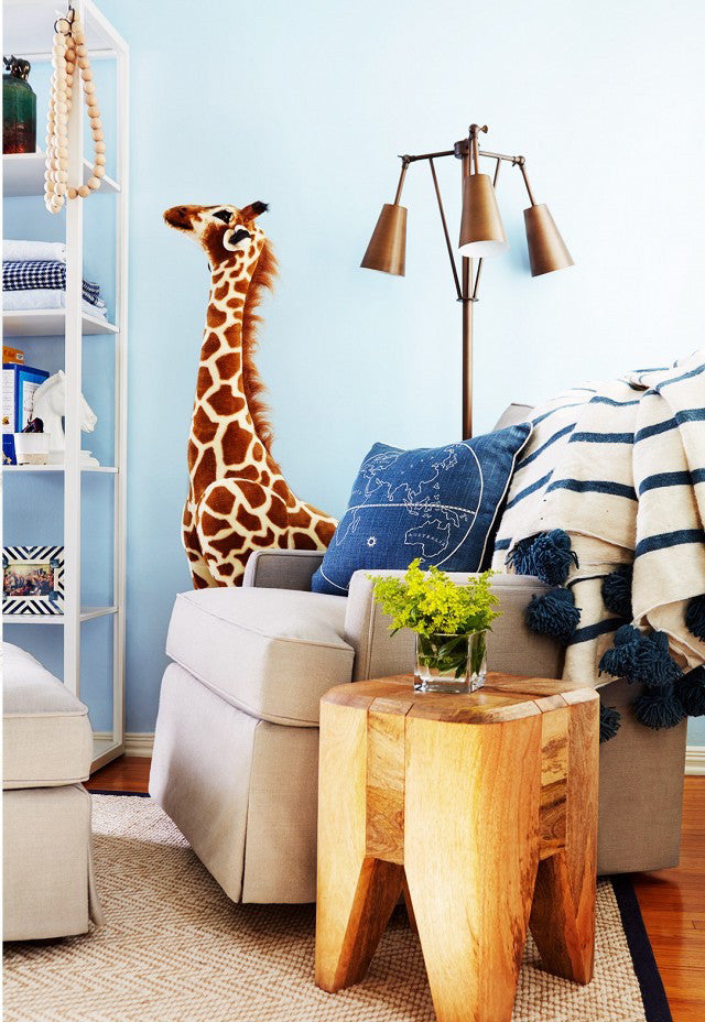 Where the wild things are, i.e. a nursery.Interior Design by Consort. Photo: Christopher Patey