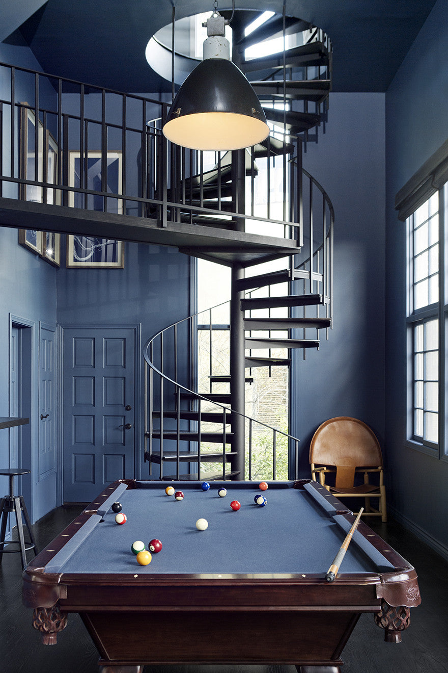 Gentlemen, start your engines. This is our take on a pool room.Interior Design by Consort. Photo: Christopher Patey