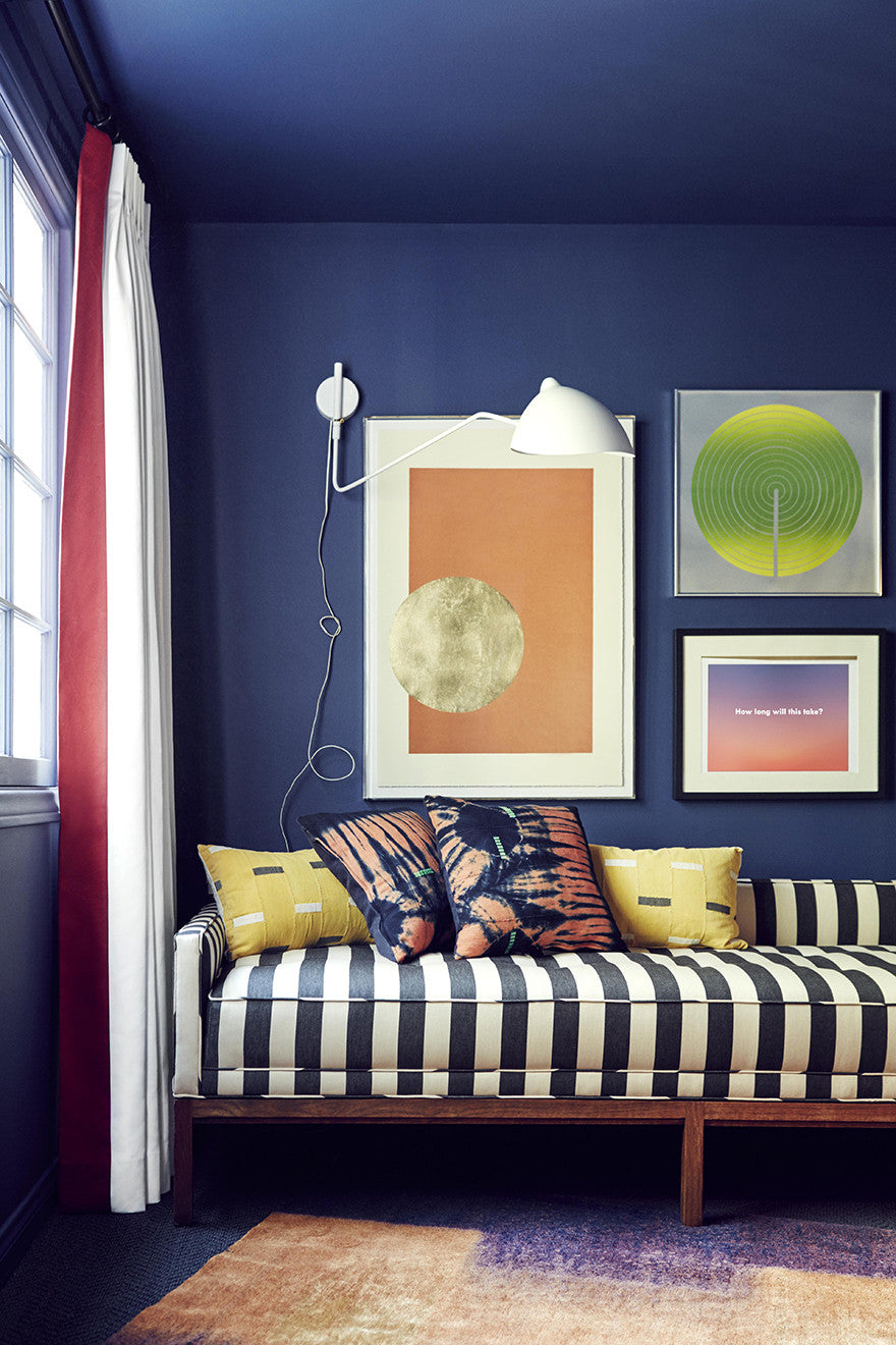 We don't shy away from colors.Interior Design by Consort. Photo: Christopher Patey
