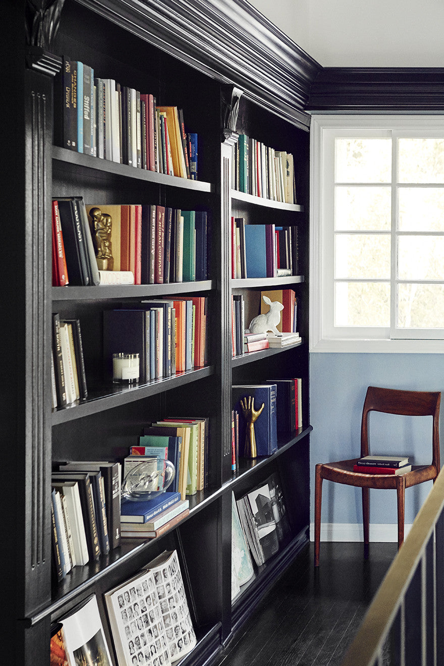 A lady's library.Interior Design by Consort. Photo: Christopher Patey