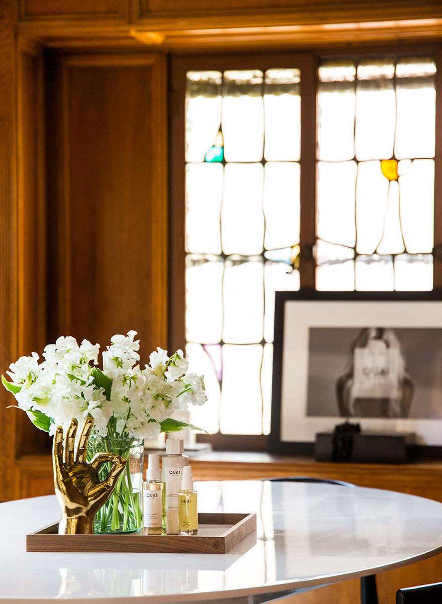 A-ok with this tray situation. Interior Design by Consort. Photo: Tessa Neustadt