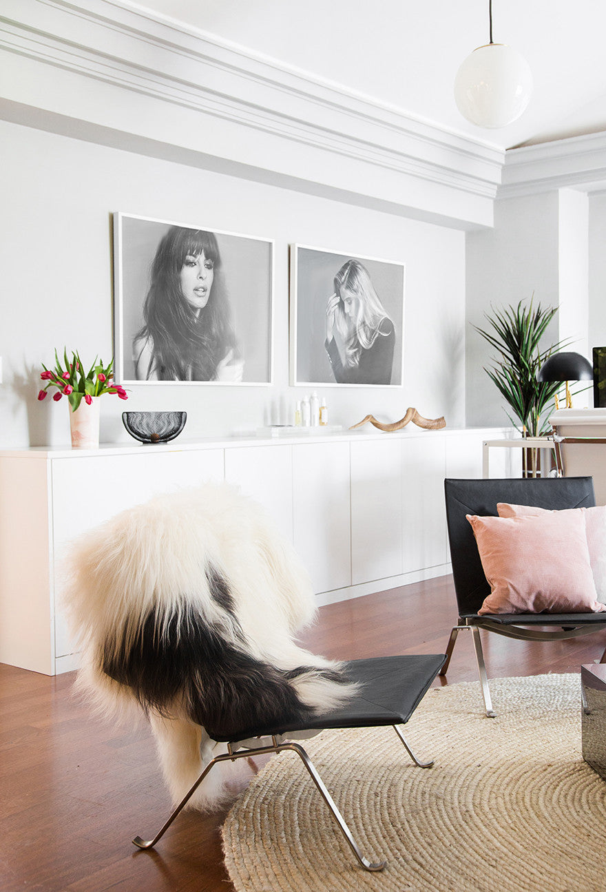 Just throw a sheepskin over it. Interior Design by Consort. Photo: Tessa Neustadt