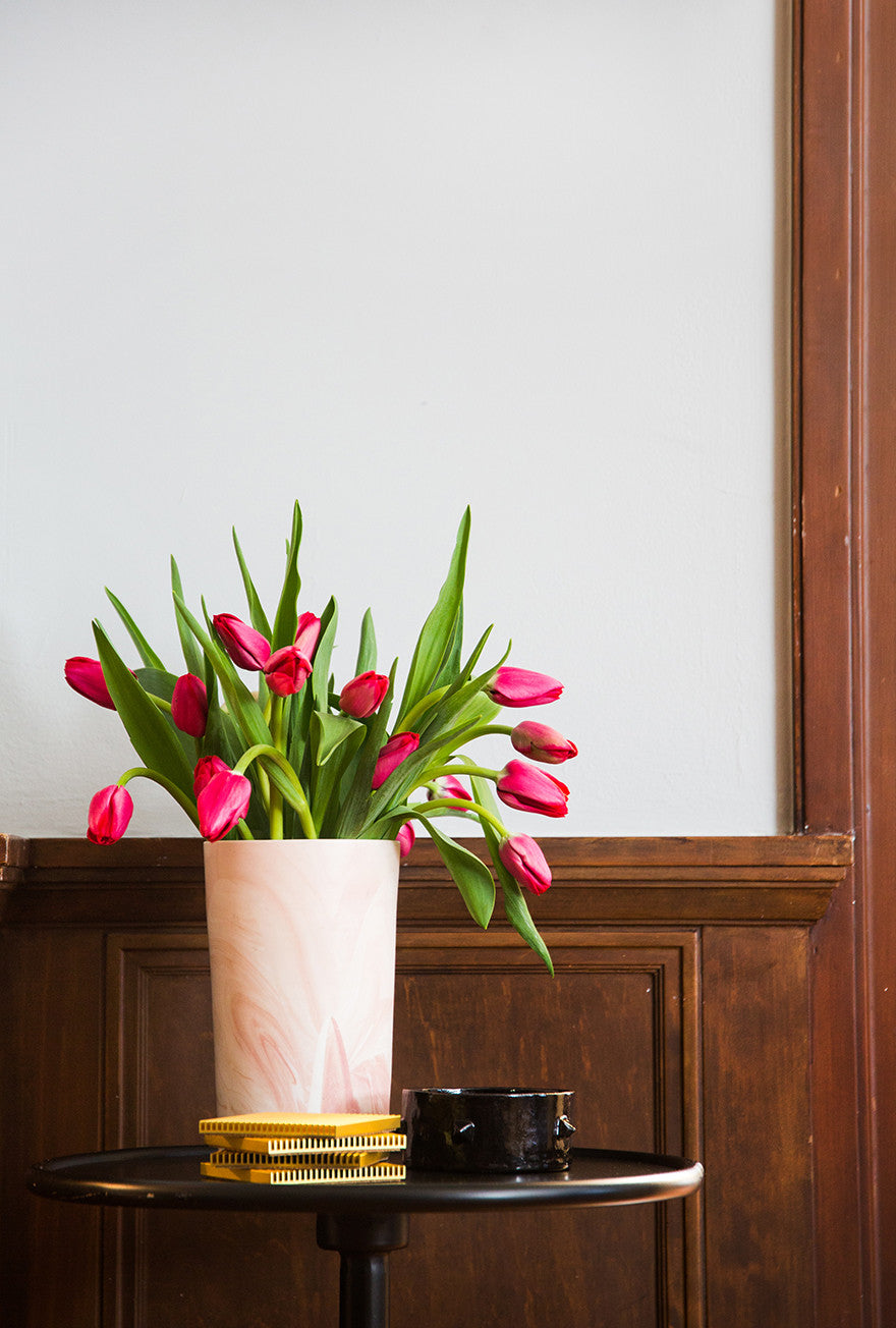 Too lips or tulips? Interior Design by Consort. Photo: Tessa Neustadt