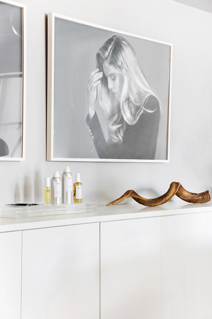It's a unicorn horn. Interior Design by Consort. Photo: Tessa Neustadt