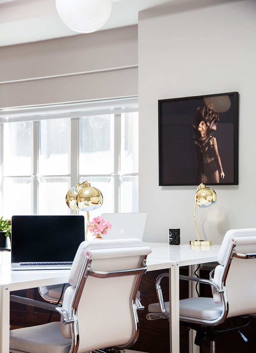I whip my hair back and fourth. Interior Design by Consort. Photo: Tessa Neustadt