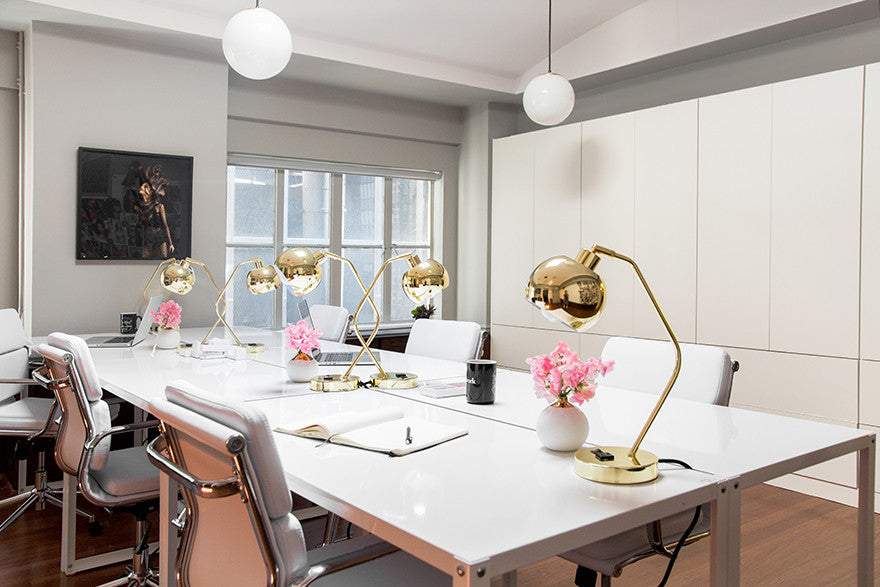 Brass brings the sass. Interior Design by Consort. Photo: Tessa Neustadt
