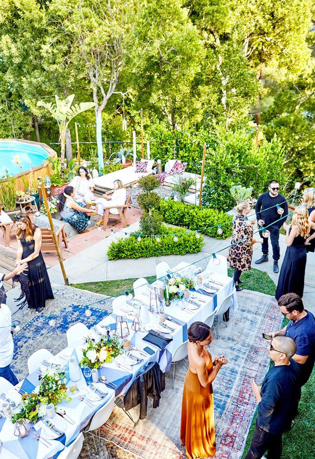 Picture perfect garden party.Interior Design by Consort. Photo: Natasha Lee