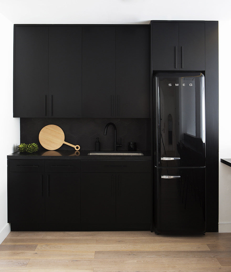 I feel comfortable in black.Interior Design by Consort. Photo: Sam Frost