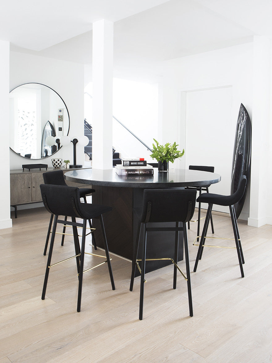 Sometimes it really is just black and white.Interior Design by Consort. Photo: Sam Frost