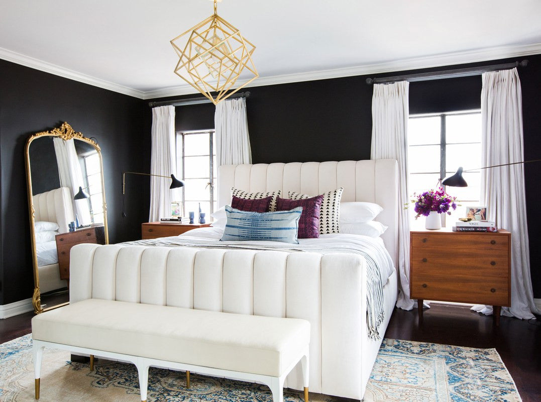 Chic dreams.   Interior Design by Consort. Photo by Tessa Neustadt.