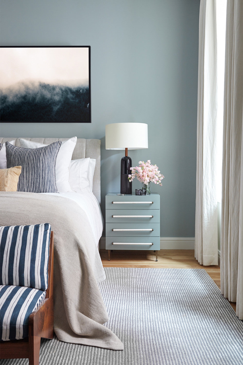 One night stand: the classy version.     Interior Design by Consort. Photo: Reid Rolls