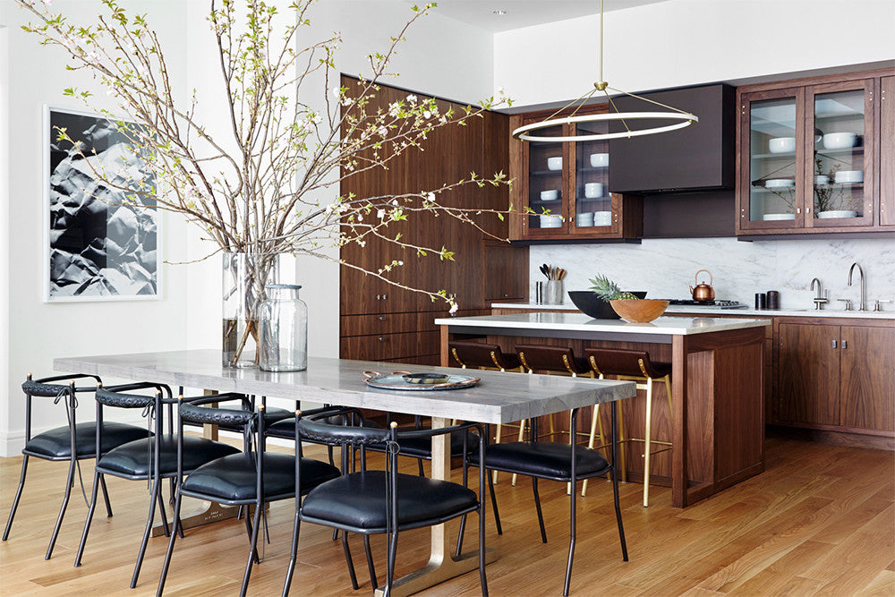Home of haute cuisine.    Interior Design by Consort. Photo: Reid Rolls