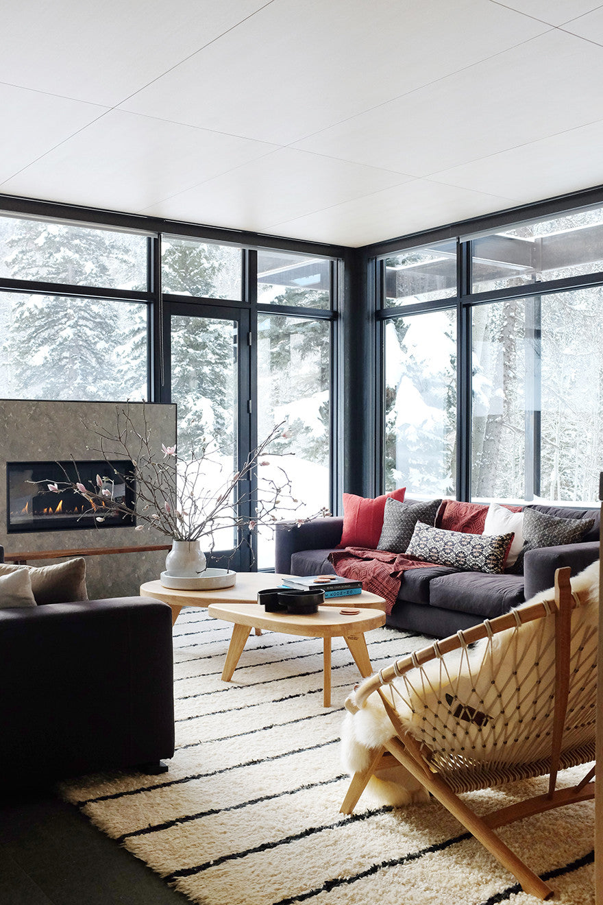 Snow days.Interior Design by Consort. Photo: Mat Sanders