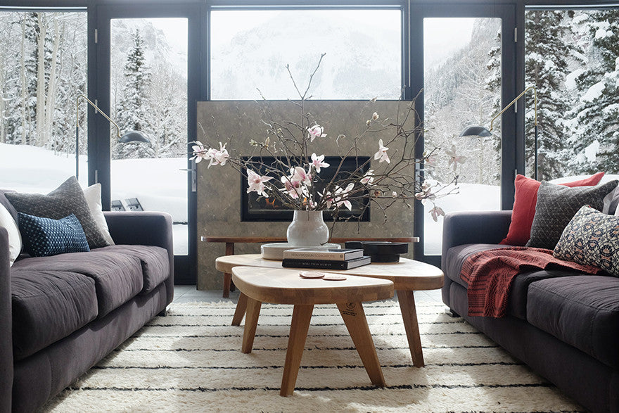 Snow bunny stunner.Interior Design by Consort. Photo: Mat Sanders
