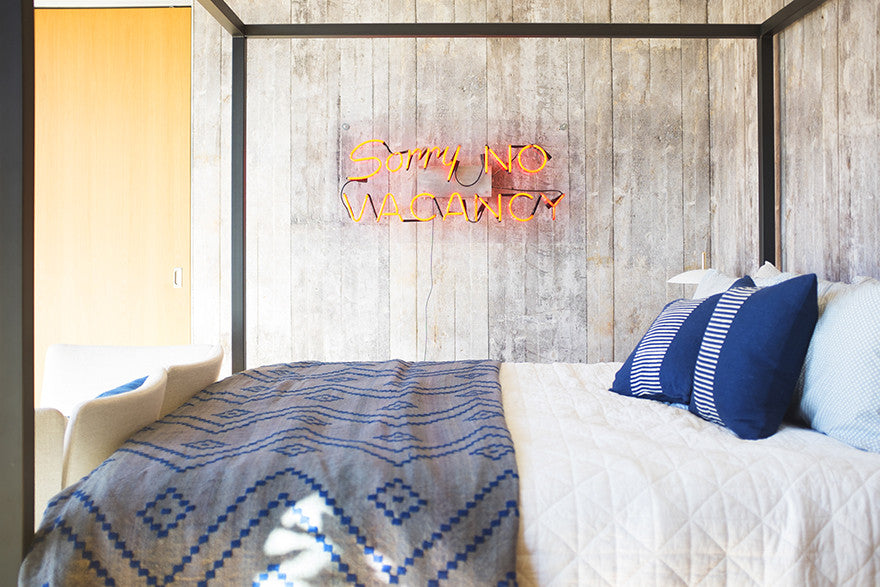 Sorry, no vacancy. Interior Design by Consort. Photo: Mat Sanders