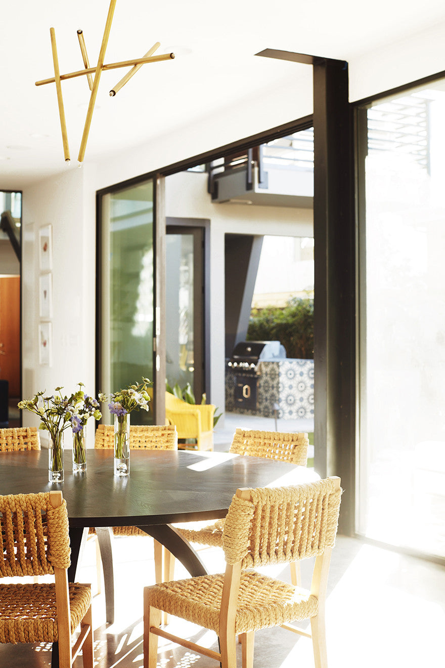Hello, sunshine.Interior Design by Consort. Photo: Joe Schmelzer