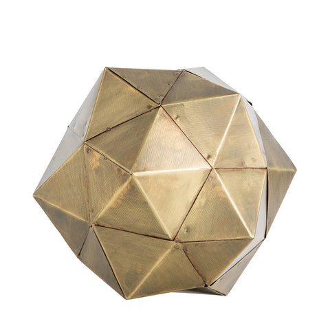 Brass Geometric Sculpture